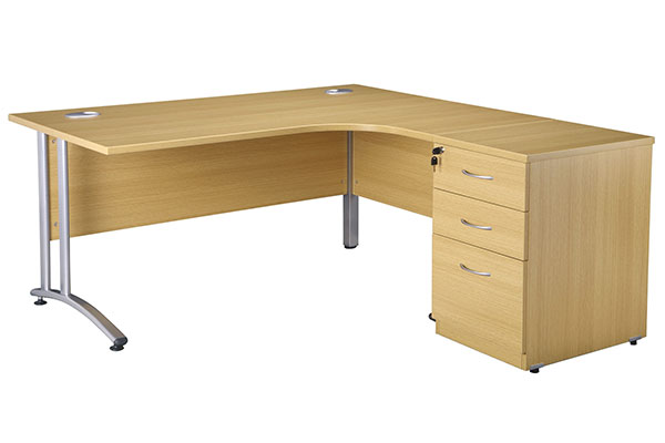 New Curved Office Desks